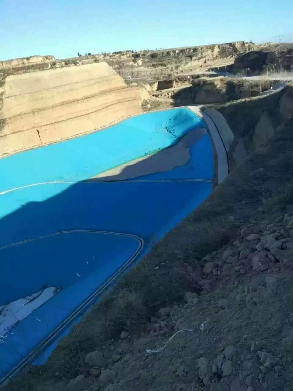 蓄水池-天蓝色土工膜